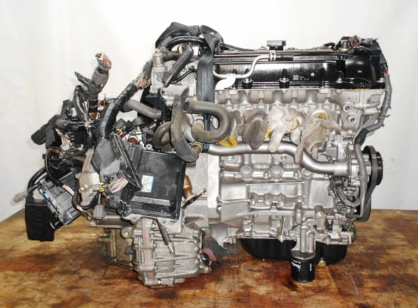 Двигатель Mazda P3-VE - 30202104 CVT FF DEJFS 86 000 km коса+комп 5