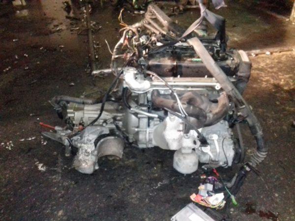 Двигатель Volkswagen AZM - 097352 AT FF Passat 119 000 km коса+комп 5