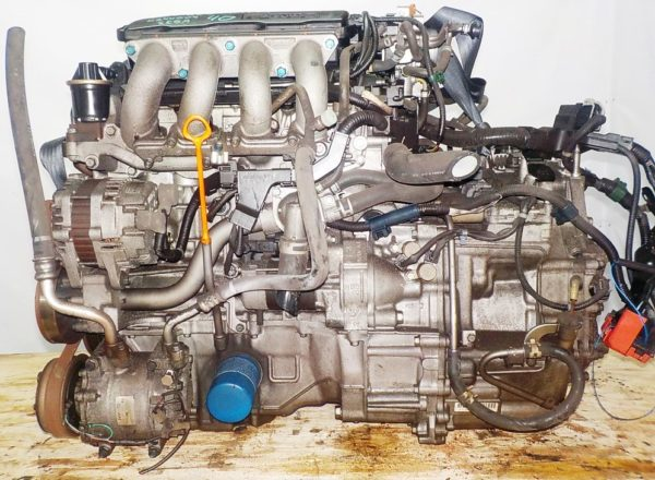 Двигатель Honda L13A - 4244509 CVT SE5A FF GE6 101 000 km коса+комп 1