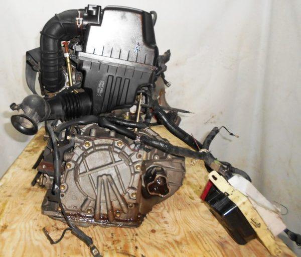 Двигатель Toyota 2NZ-FE - 3393928 AT U441E-03A FF NNP11 128 000 km коса+комп без датчика скорости 3