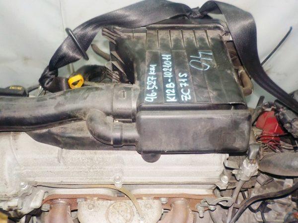 Двигатель Suzuki K12B - 1021011 CVT FF ZC71S 96 527km коса+комп 2