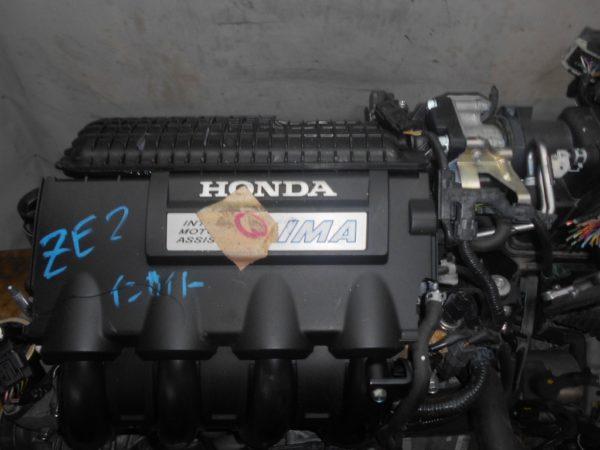 Двигатель Honda LDA - 2014398 CVT SBLA FF ZE2 коса+комп 8