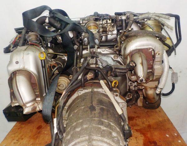 Двигатель Subaru EJ20-TT - B546213 AT TV1B4YBDAB 4WD BH5 EJ206DXDBE комп 4