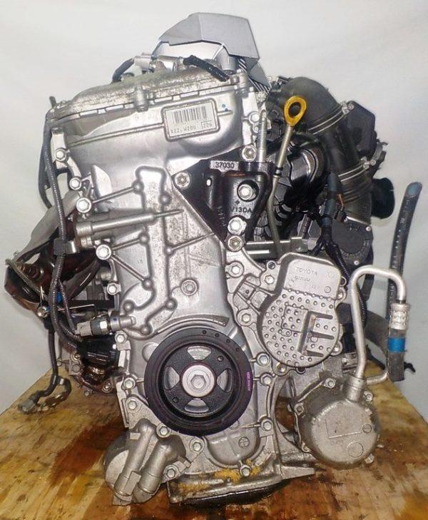 Двигатель Toyota 2ZR-FXE - 5558680 CVT P410-01A FF ZVW30 112 000 km коса+комп 3