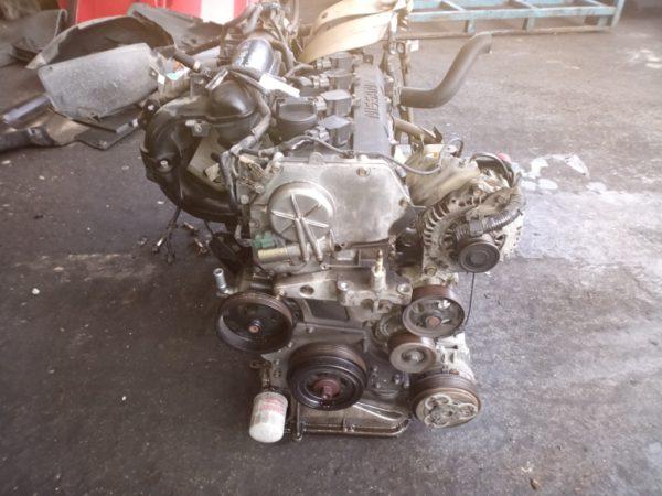 Двигатель Nissan QR25-DE - 056824A AT RE4F04B FF RC24 144 500 km коса+комп 3