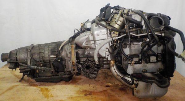 Двигатель Subaru EJ20-TT - B546213 AT TV1B4YBDAB 4WD BH5 EJ206DXDBE комп 1