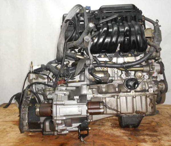 Двигатель Nissan CR14-DE - 294006 AT RE4F03B FF Z11 102 000 km коса+комп 4