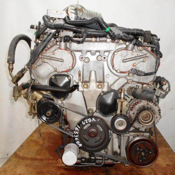 Двигатель Nissan VQ25-DD - 163369A AT RE4F04B FF PA33 65 000 km коса+комп 3