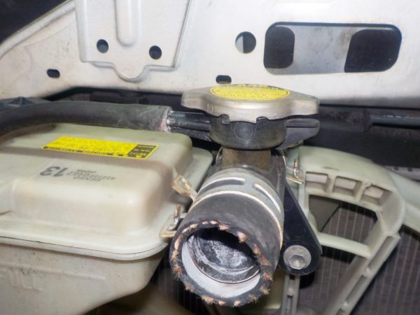 Ноускат Toyota Vitz 90, (1 model) (W051914) 7