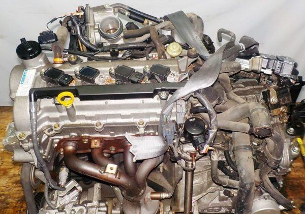 Двигатель Toyota 2SZ-FE - БЕЗ НОМЕРА CVT K410 FF коса+комп 2