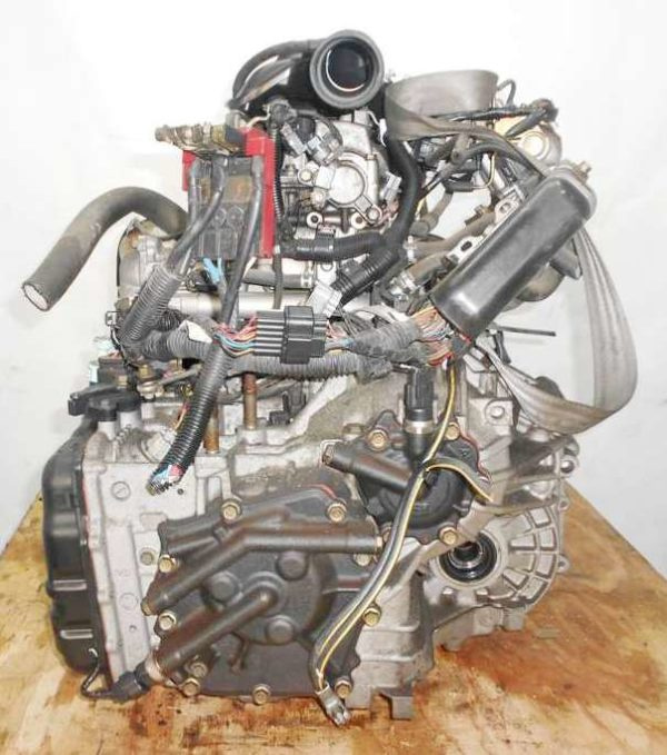Двигатель Mitsubishi 4G15 - CX0057 CVT F1C1A FF Z27A 53 862 km 5
