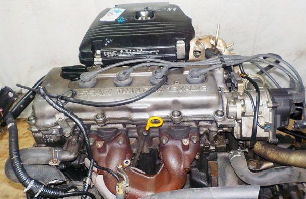 Двигатель Nissan GA15-DS - 688096C MT FF 4WD carburator коса+комп 2