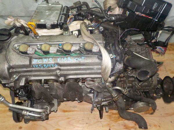 Двигатель Suzuki K12B - 1258476 CVT FF ZC71S коса+комп 2