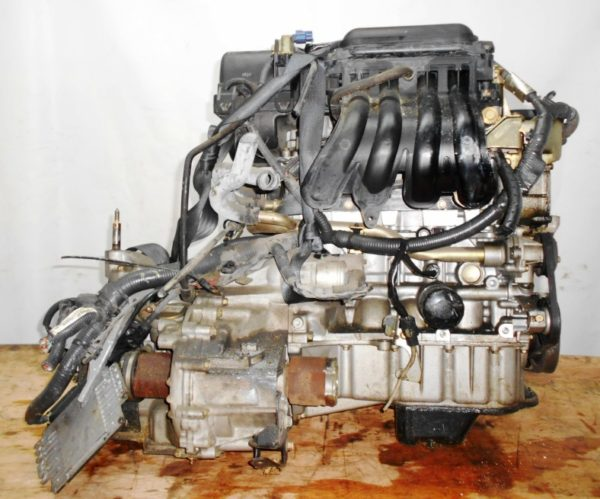 Двигатель Nissan CR12-DE - 354746 AT RE4F03B FF AK12 115 000 km коса+комп 4