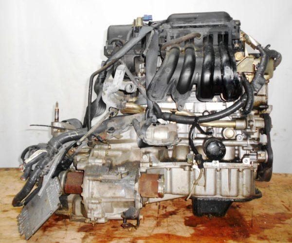 Двигатель Nissan CR12-DE - 354746 AT RE4F03B FF AK12 115 000 km коса+комп 4