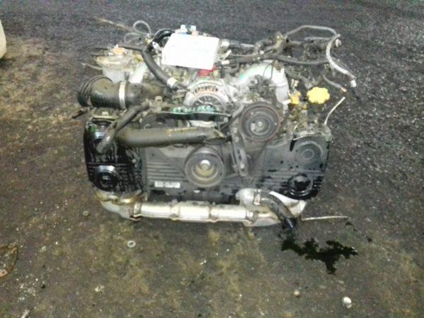 Двигатель Subaru EJ20 - B086888 AT TV1B4YBCAB FR 4WD BH5 EJ206DXCBE 80 000 km 5
