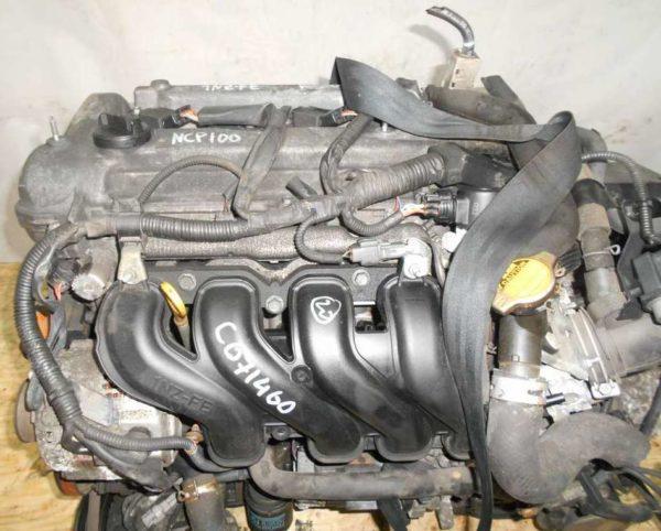 Двигатель Toyota 1NZ-FE - C071460 CVT K210-02A FF NCP100 102 000 km электро дроссель коса+комп 2