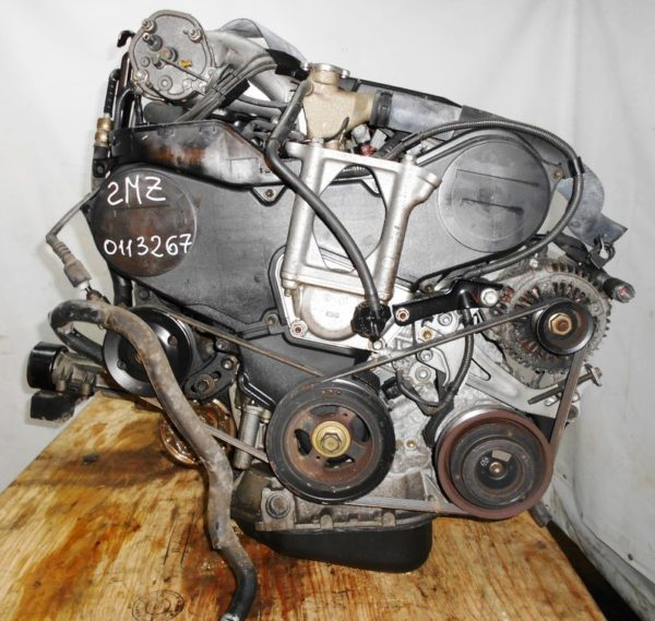 Двигатель Toyota 2MZ-FE - 0113267 AT A541F-04A FF 4WD MCV25 69 000 km коса+комп 3