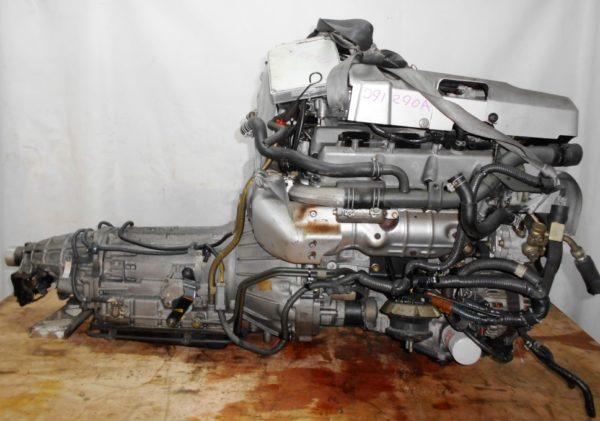 КПП Nissan VQ25-DE AT RE4R01A FR MY33 4
