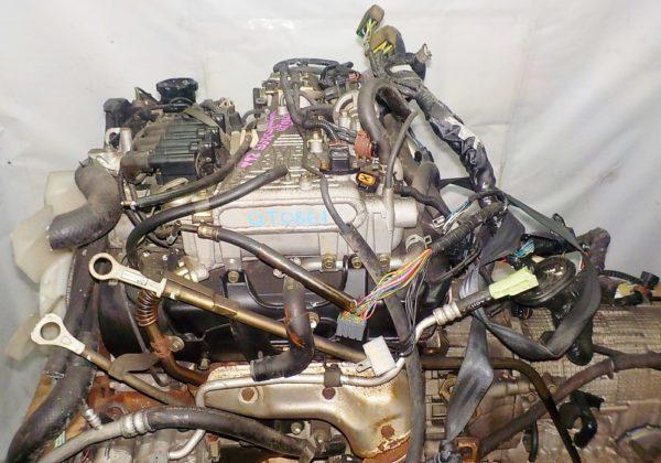 Двигатель Mitsubishi 6G72 - QT0861 AT FR 4WD Delica катушка коса+комп 2