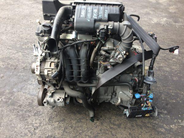 Двигатель Mitsubishi 3A90 - UAD3019 CVT FICJB FF A05A 74 500 km коса+комп 1