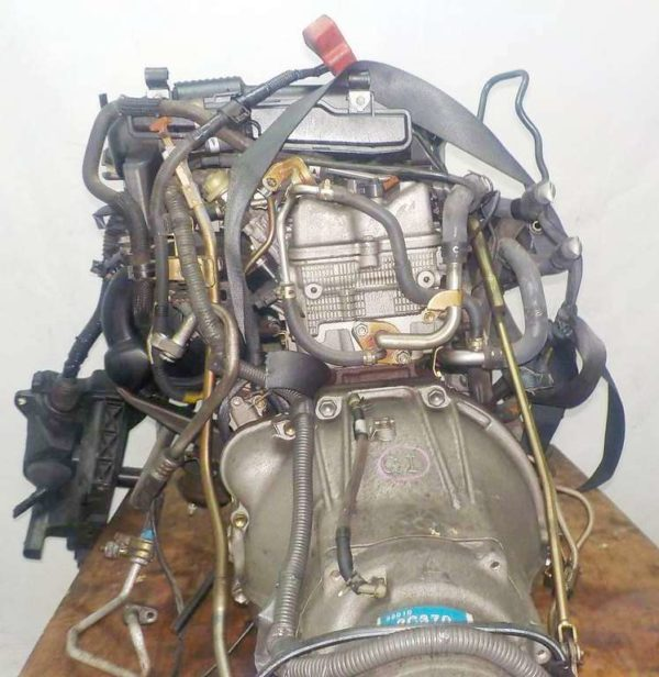 Двигатель Toyota 1G-FE - 6935988 AT 03-70LS A42DE-A04A FR GX110 BEAMS 155 261 km коса+комп 7