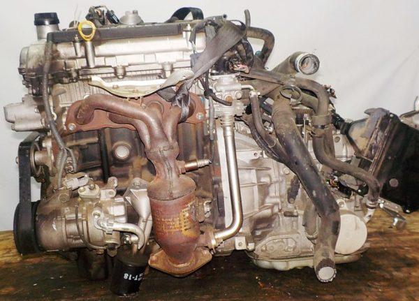 Двигатель Toyota 2SZ-FE - 1534656 CVT K410 FF коса+комп 1