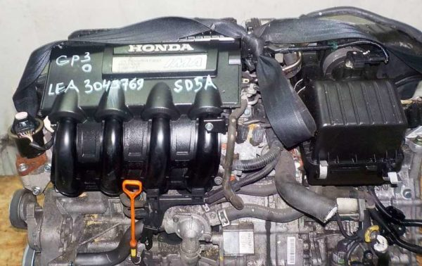 Двигатель Honda LEA - 3043769 CVT SD5A FF GP3 коса+комп 2