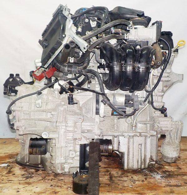 Двигатель Toyota 1KR-FE - 0131766 CVT K410-04A FF KSP90 коса+комп 4