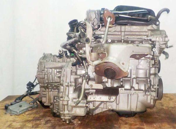 Двигатель Nissan HR15-DE - 224465A CVT RE0F08B GH54 FF YGZ11 111 703 km коса+комп 4
