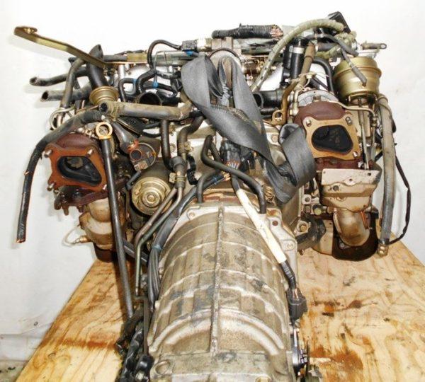 Двигатель Subaru EJ20-TT - B150261 AT TV1B4YВCAB FF 4WD BH5 EJ206DXCBE 101 000 km 00′ комп 5