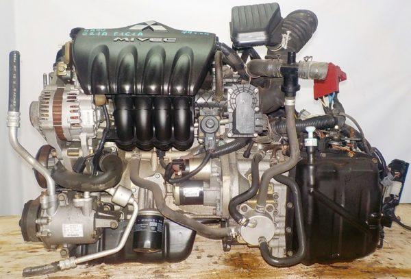 Двигатель Mitsubishi 4A90 - 0017410 CVT F1C1A FF Z21A 79 000 km коса+комп 1