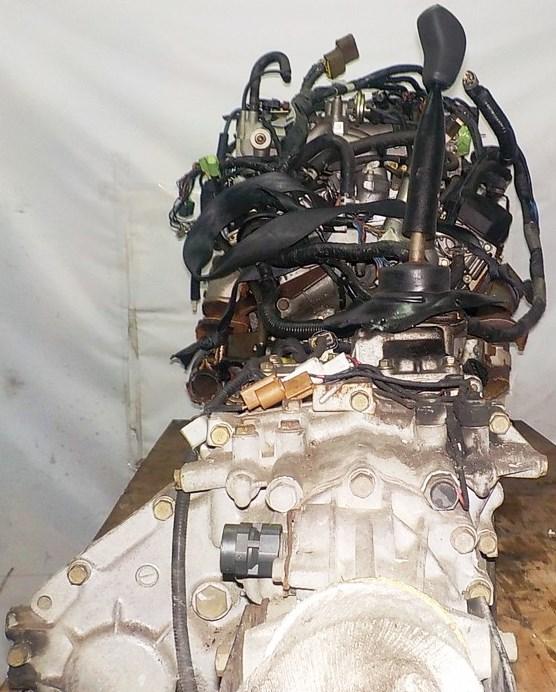 Двигатель Mitsubishi 6G72 - QT0861 AT FR 4WD Delica катушка коса+комп 8