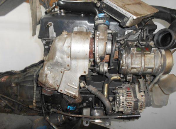 Двигатель Isuzu 4JX1-T - 674792 AT 30-40LE FR (99KR406353) 4WD Bighorn трос кикдауна коса+комп, неисправна форсунка 3