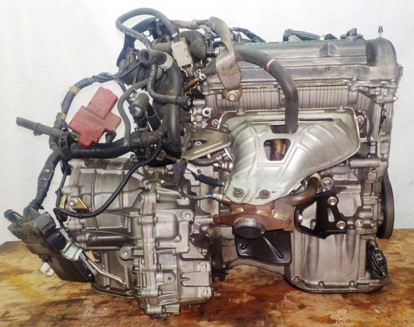 Двигатель Toyota 1NZ-FE - C005237 CVT K210-02A FF NCP100 143 130 km электро дросель коса+комп 4