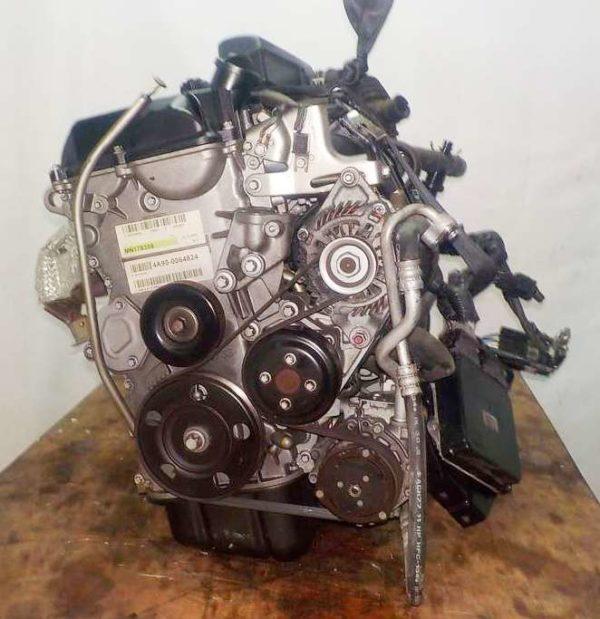 Двигатель Mitsubishi 4A90 - 0064824 CVT F1C1A FF Z21A 66 833 km коса+комп 3