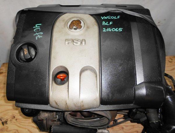 Двигатель Volkswagen BLF - 214065 AT FF Golf 180 000 km 2