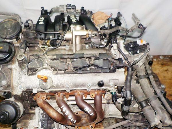 Двигатель Volkswagen BLF - 153563 AT FF коса+комп 2
