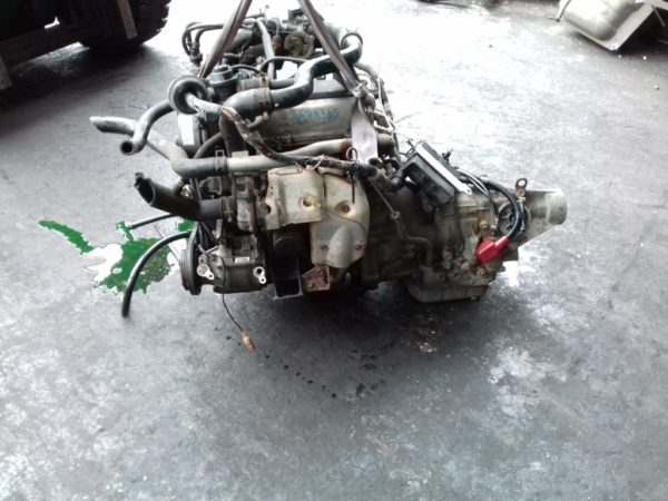 Двигатель Daihatsu EF-DEM - 6678365 AT YBS5 FR J131G 139 000 km коса+комп 1