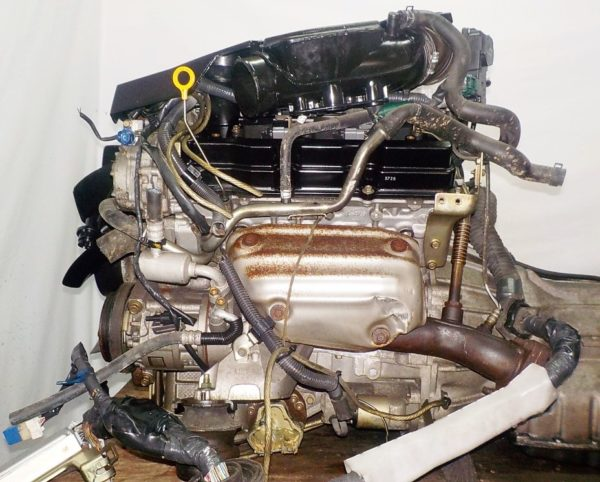 Двигатель Nissan VQ25-DD - 211590A AT RE5R05A FR 4WD NEO коса+комп 5