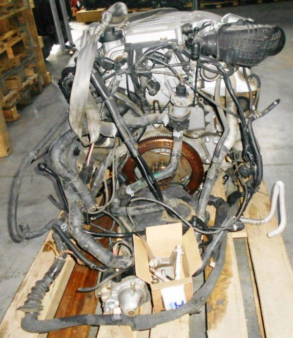 Двигатель Volkswagen AZX - 018532 AT FF коса+комп, без КПП 4