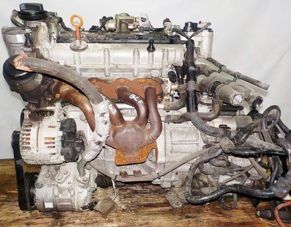 Двигатель Volkswagen BLF - 153563 AT FF коса+комп 1