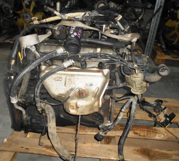 Двигатель Mazda B3 - 813719 AT FF DW3W Black без датчика скорости, без КПП 1