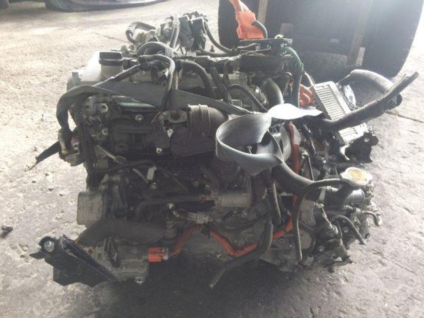 Двигатель Toyota 1NZ-FXE - 6676403 AT P510-01A FF NHP10 коса+комп 1