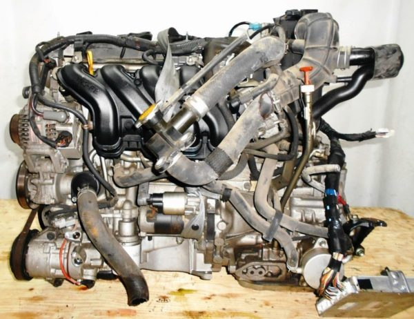 Двигатель Toyota 1NZ-FE - C388939 CVT K210-02A FF NCP81 электро дроссель коса+комп 1