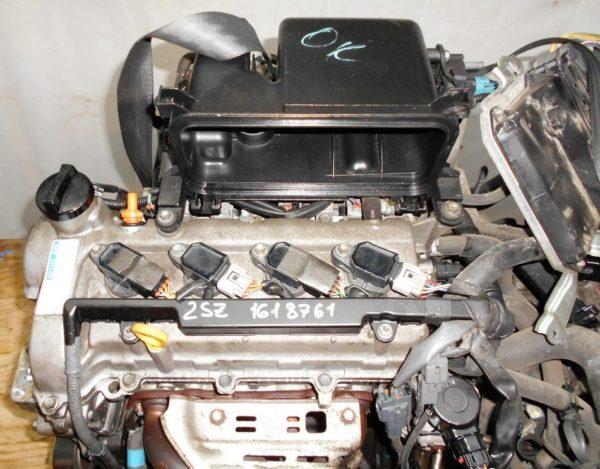 Двигатель Toyota 2SZ-FE - 1618761 CVT K410-05A FF SCP90 137 000 km коса+комп 2
