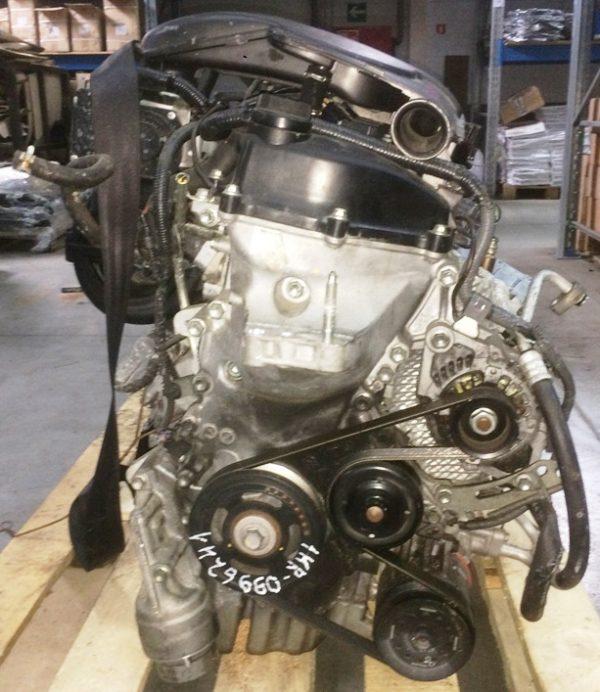 Двигатель Toyota 1KR-FE - 0996241 AT K410-04A FF KCP90 146 000 km коса+комп 4