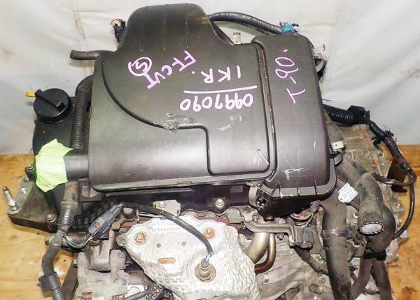 Двигатель Toyota 1KR-FE - 0997090 CVT K410-04A FF KSP90 коса+комп 2