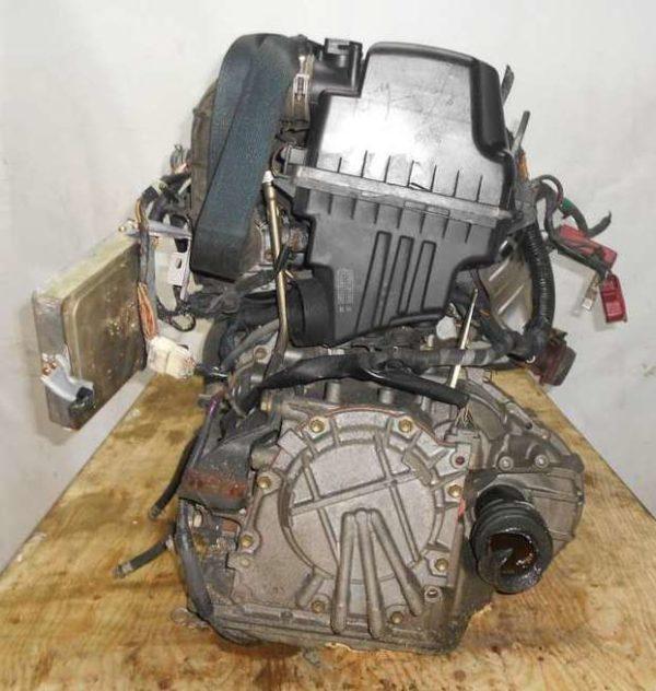 Двигатель Toyota 2NZ-FE - 2760799 AT U441E-03A FF NCP20 153 000 km без датчика скорости коса+комп 5