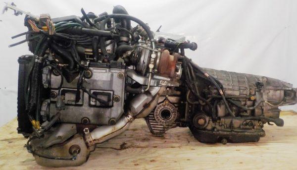 Двигатель Subaru EJ20-TT - B486342 AT TV1B4YBDAB 4WD BH5 EJ206DXDBE 153 967 km комп 4